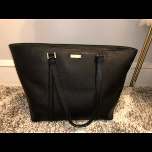 Black Kate Spade Tote Bag